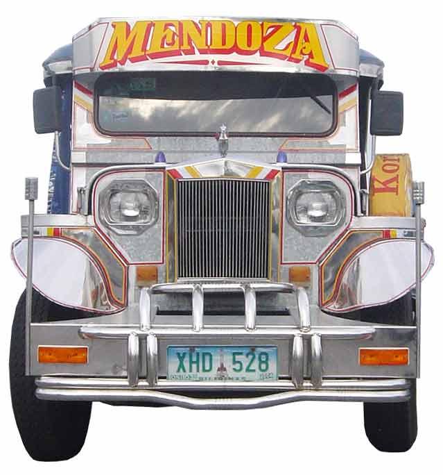 Philippine Jeepney Collection No 33 Mendoza Jeepney