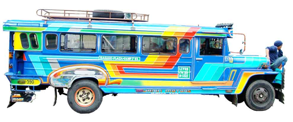 A Baguio Jeepney Jeepney Collection 126 The Once Undisputed King